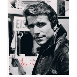 Henry Winkler original authentic genuine signed photo