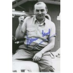 Hermann Lang  original authentic genuine autograph signed photo