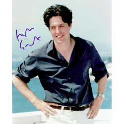 Hugh  Grant original authentic genuine signed photo