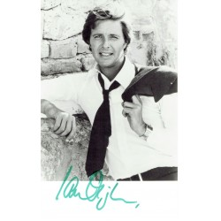 Ian Ogilvy signed authentic genuine signature