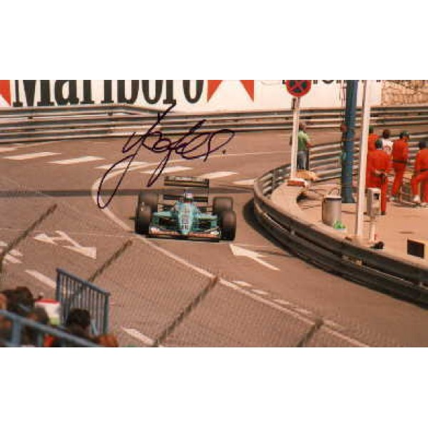 Ivan Capelli genuine original authentic signed autograph photo