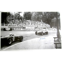 Jack Brabham signed authentic genuine signature