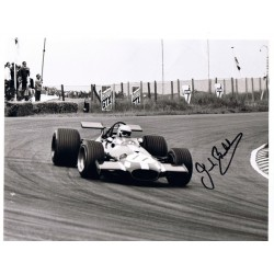 Jack Brabham signed authentic genuine signature photo