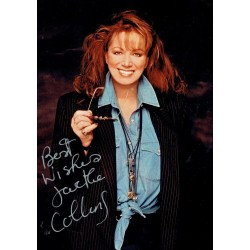 Jackie Collins authentic signed genuine signature