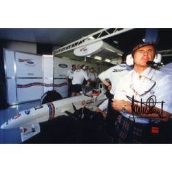 Jackie Stewart genuine original authentic signed autograph photo