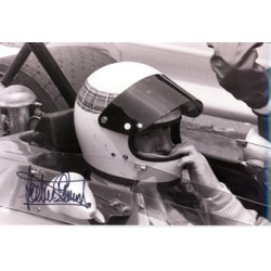 Jackie Stewart  genuine signed authentic autograph photo