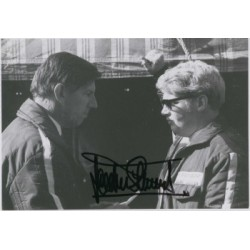 Jackie Stewart original authentic genuine signed autograph photo