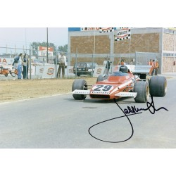 Jacky Ickx  genuine signed original autograph photo