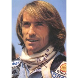 Jacques Laffite original authentic genuine signed autograph photo