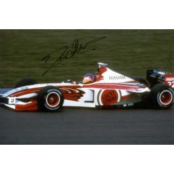 Jacques Villeneuve genuine original authentic signed autograph photo