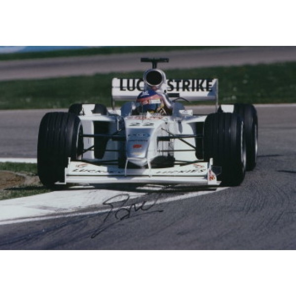 Jacques Villeneuve  genuine signed original autograph photo