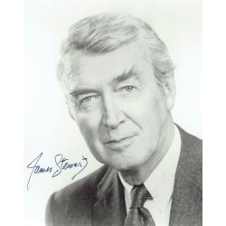 James Stewart  original authentic genuine autograph signed photo