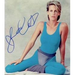 Jamie-Lee Curtis original authentic genuine signed photo