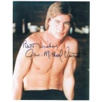 Jan Michel Vincent original authentic genuine signed photo