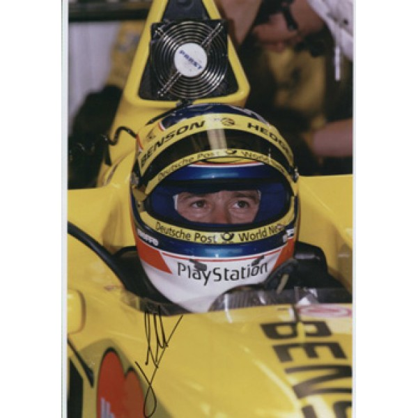 Jarno Trulli  genuine signed original autograph photo