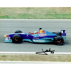 Jean Alesi genuine original authentic signed autograph photo