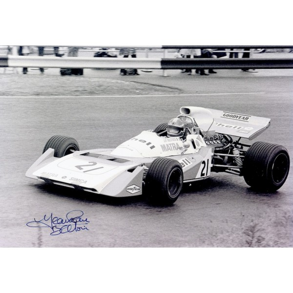 Jean Pierre Beltoise  genuine signed original autograph photo