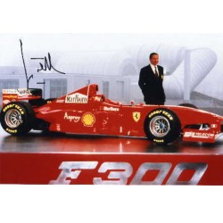 Jean Todt genuine original authentic signed autograph photo