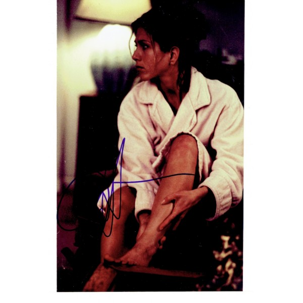 Jennifer Aniston  original authentic genuine autograph signed photo