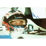 Jenson Button original authentic genuine signed autograph photo