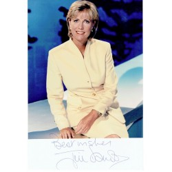 Jill Dando  authentic genuine autograph signed photo
