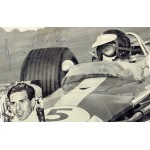 Jim Clark  authentic genuine signed autographs