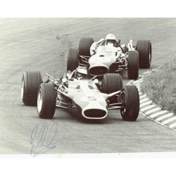 Jim Clark F1 genuine authentic signed autograph image