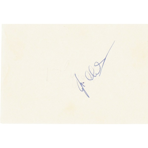 Jim Clark Lotus F1 genuine authentic signed autograph display signature
