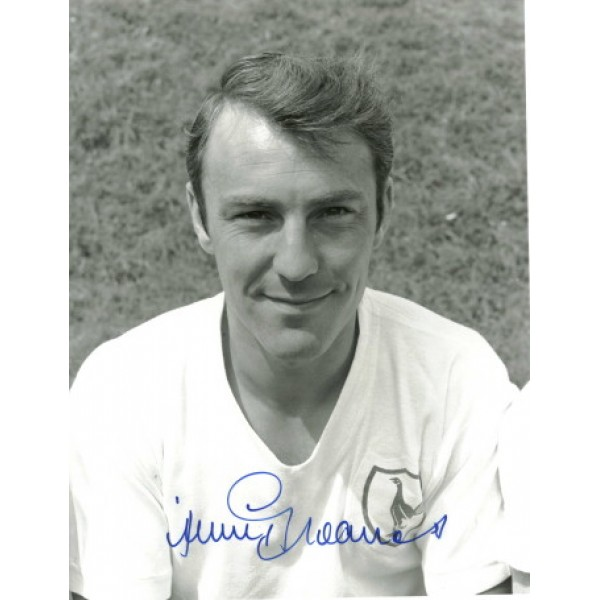 Jimmy Greaves original authentic genuine signed photo
