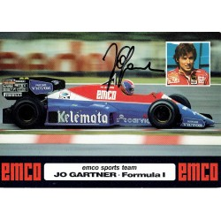Jo Gartner  original authentic genuine autograph signed photo