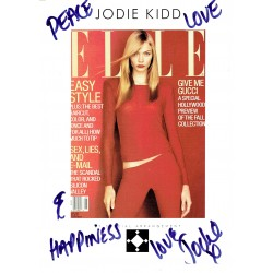 Jodie Kidd authentic signed genuine signature
