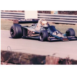 Jody Scheckter original authentic genuine signed photo