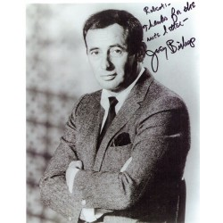 Joey Bishop  authentic genuine autograph signed photo