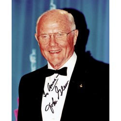 John Glenn original authentic genuine signed photo