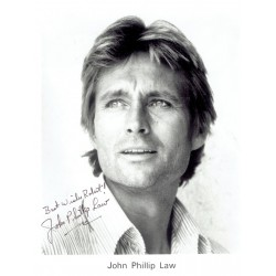 John Philip Law  original authentic genuine autograph signed photo