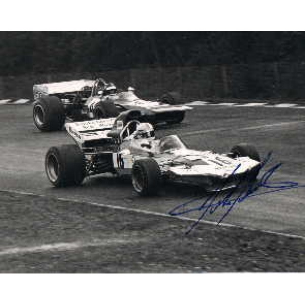 John Surtees genuine original authentic signed autograph
