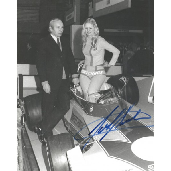 John Surtees genuine original authentic signed autograph photo