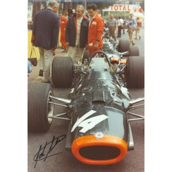 John Surtees  genuine signed authentic autograph photo