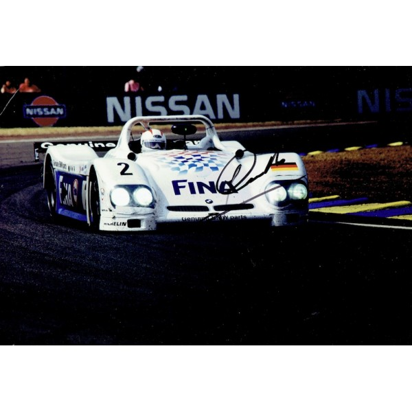 Johnny Cecotto  genuine signed original autograph photo