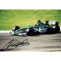 Johnny Herbert genuine signed original autograph photo COA