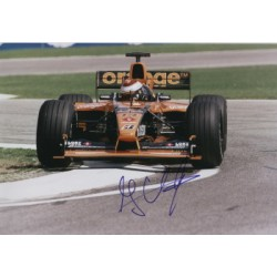 Jos Verstappen  genuine signed original autograph photo