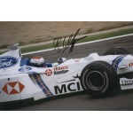 Jos Verstappen  original authentic genuine autograph signed photo