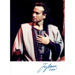Jose Carreras  original authentic genuine autograph signed photo