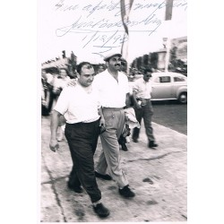 Jose Froilan Gonzalez original authentic genuine signed photo