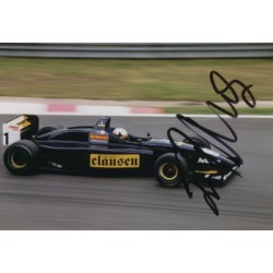 Juan Pablo Montoya  genuine signed original autograph photo