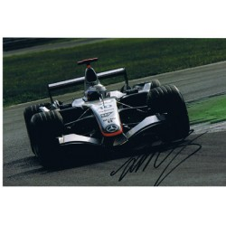 Juan Pablo Montoya original authentic genuine signed autograph photo