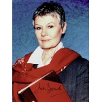 Judi Dench  authentic genuine autograph signed photo