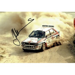 Juha  Kankkunen original authentic genuine signed photo
