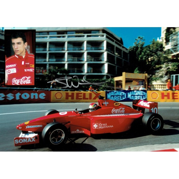 Justin Wilson original authentic genuine signed photo