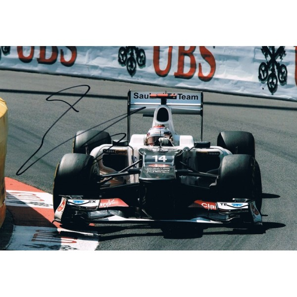 Kamui Kobayashi original authentic genuine signed photo